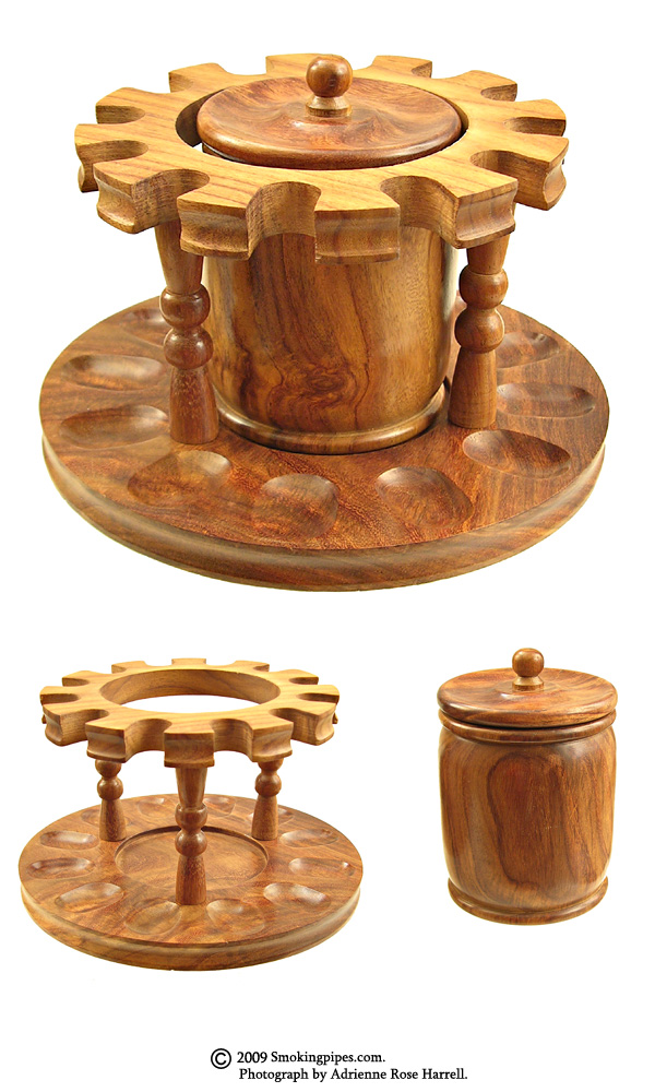 12 Pipe Round Stand with Jar