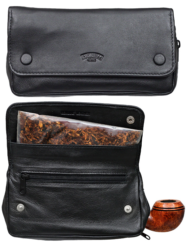 Savinelli Black Pipe Bag And Pouch