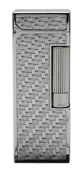 Lighters Dunhill Rollagas Texalium Ruthenium Plate
