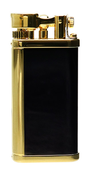 Lighters Dunhill Unique PVD Black Gold Plate