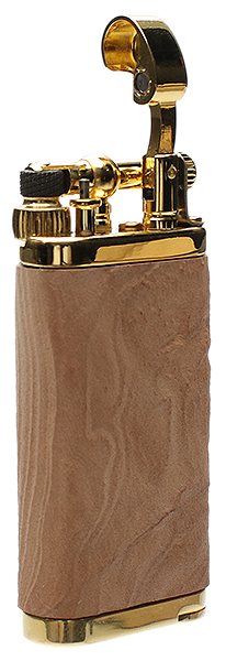 Lighters IM Corona Old Boy Natural Sandblasted Briar