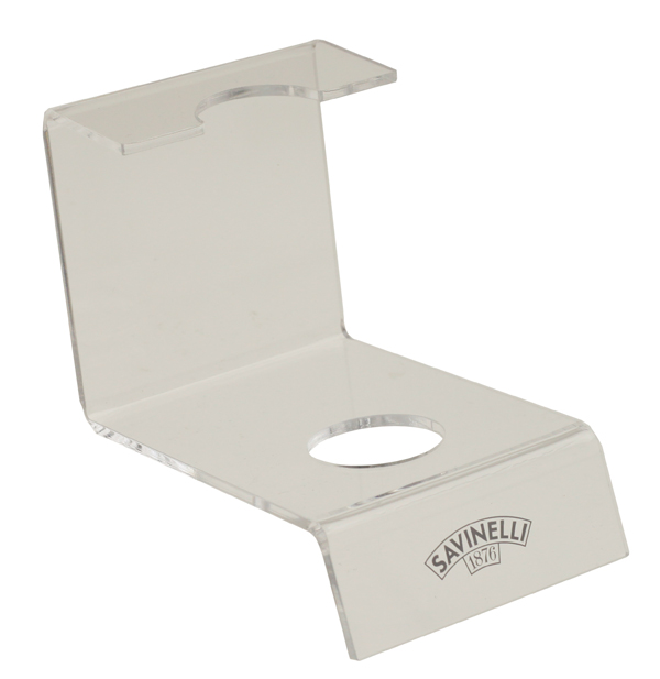 Pipe Accessories Savinelli 1 Pipe Acrylic Stand (Clear)