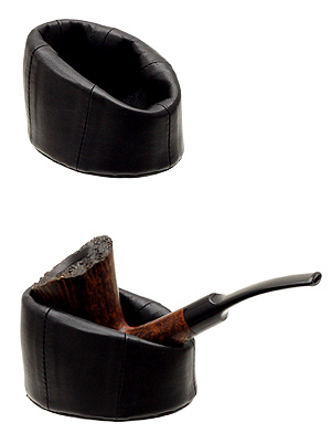 Pipe Accessories Leather Pipe Stand