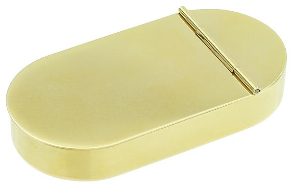 Pipe Accessories 1790 English Tobacco Box Brass