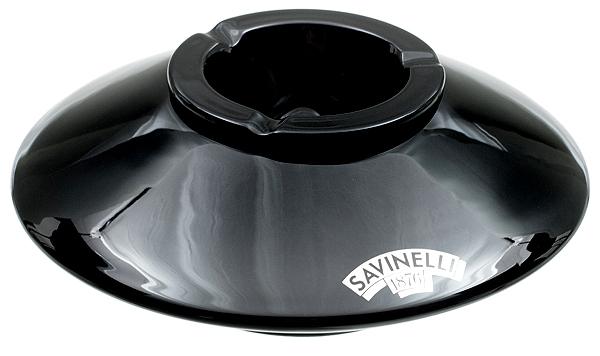 Savinelli Ceramic Black Deco Ashtray