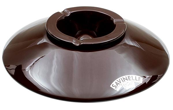 Savinelli Ceramic Brown Deco Ashtray