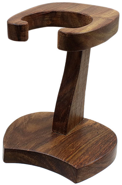 Pipe Accessories Calabash Pipe Stand Teak