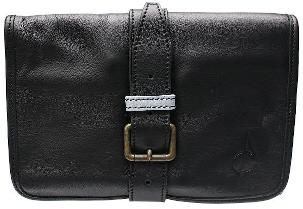 Pipe Accessories Claudio Albieri Italian Leather Elegance Rollup Black/Blue