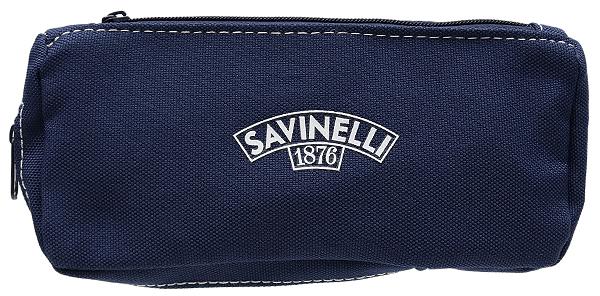 Pipe Accessories Savinelli Cloth 1 Pipe Combo Pouch Dark Blue