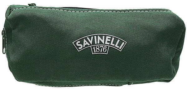 Pipe Accessories Savinelli Cloth 1 Pipe Combo Pouch Green