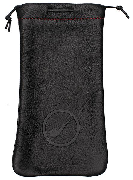 Smokingpipes Gear Claudio Albieri Smokingpipes.com Leather Pipe Bag Black