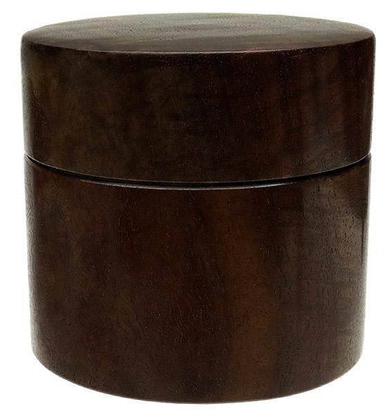 Pipe Accessories Scott Tinker Curly Claro Walnut Tobacco Jar