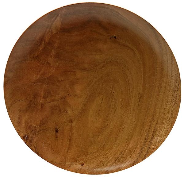 Scott Tinker 6 Inch Crotch Cherry Tobacco Plate