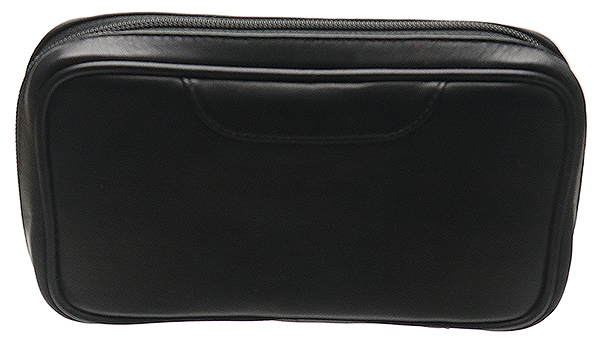 Pipe Accessories Black Nappa 2 Pipe Bag with Pouch