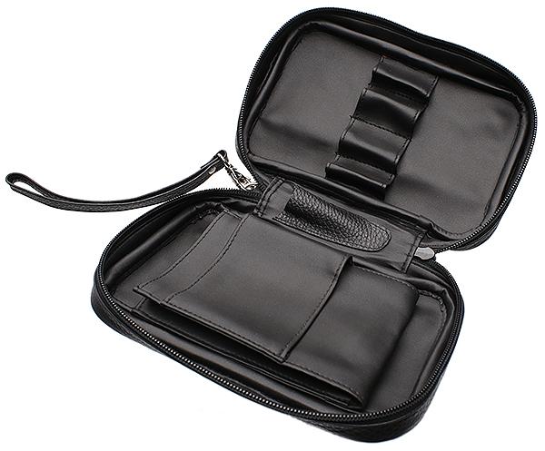 Pipe Accessories Brigham 4 Pipe Bag Black
