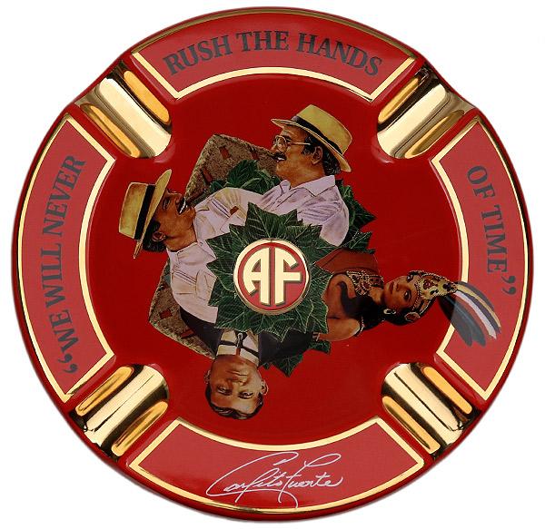 Ashtrays Arturo Fuente Journey Through Time Ashtray Red