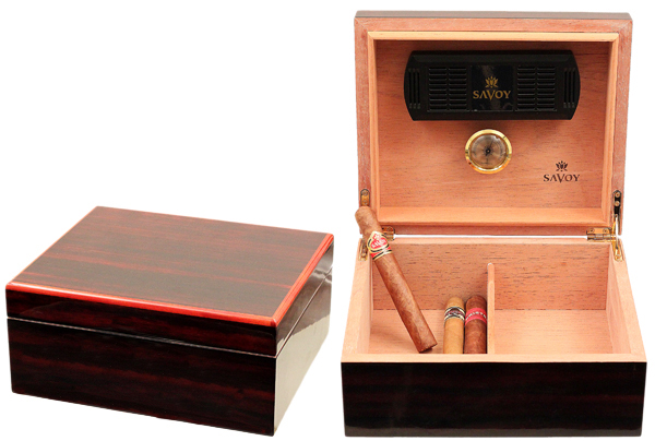 Cigar Accessories Savoy Macassar Small Humidor