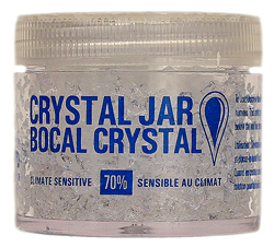 Brigham Crystal Jar 70% Humidifications 2oz