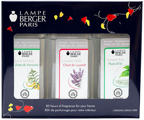 Lampe Berger Fresh Fragrance Trio Pack