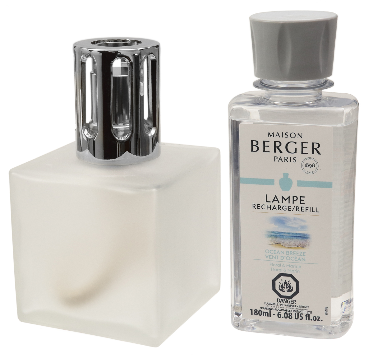 Air Fresheners Lampe Berger Cube Frosted Lamp