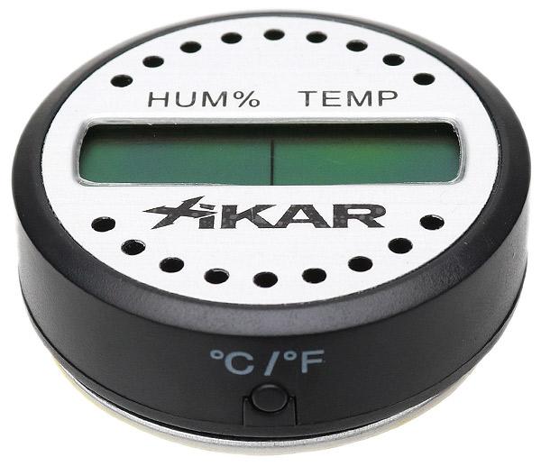 Humidification Xikar Round Digital Hygrometer Thermometer