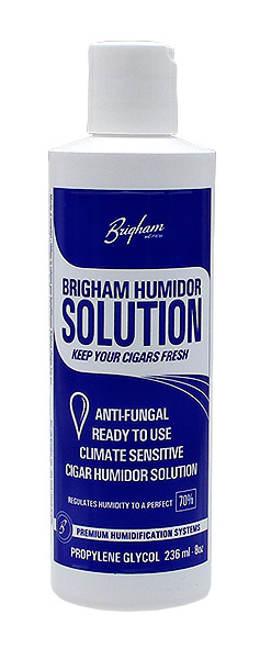 Cigar Accessories Brigham PG Pre-Mixed Humidor Solution 8oz