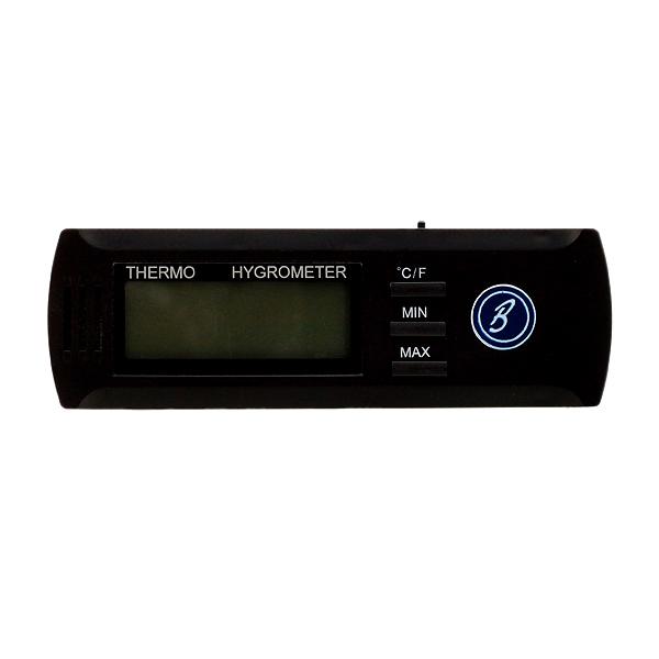 Cigar Accessories Brigham Slim Digital Hygrometer