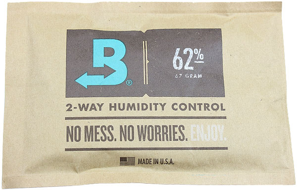 Cigar Accessories Boveda Humidity Control Packet-62%