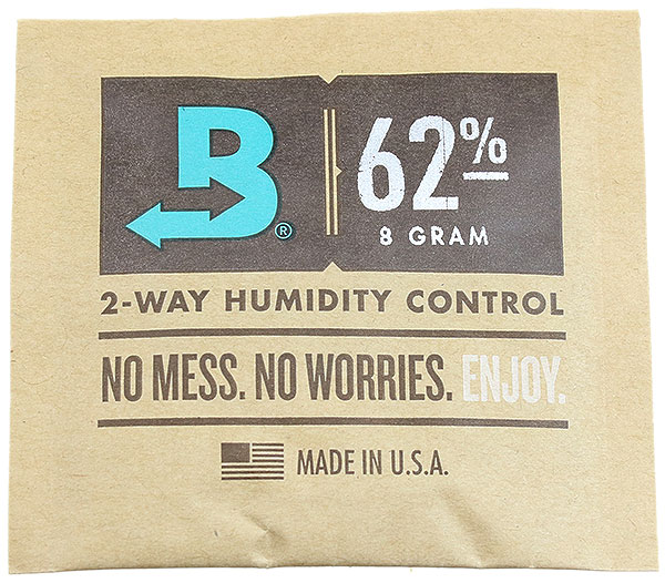 Boveda 8g Humidity Control Packet-62%