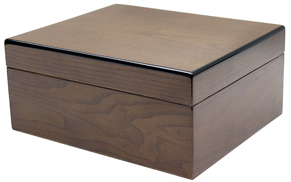 Cigar Accessories Savoy Ash Burl Small Humidor