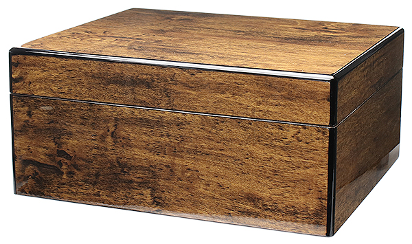 Cigar Accessories Savoy Mesquite Small Humidor