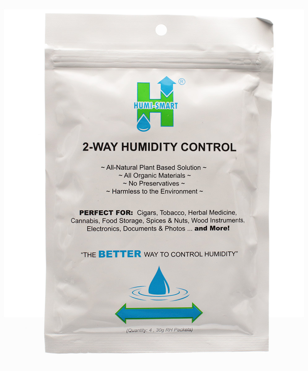 Humidification Humi-Smart 30g Humidity Control Four Packet Foil Pack-69%