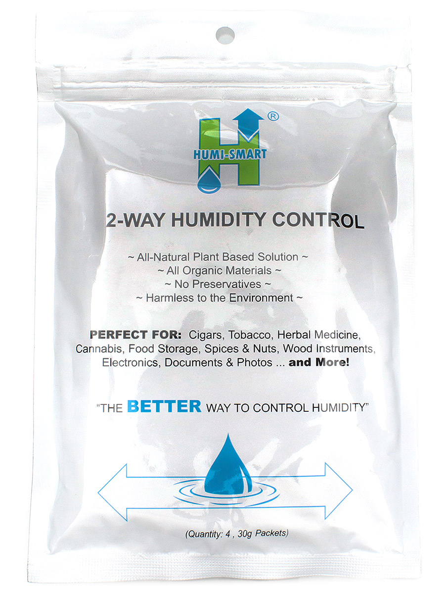 Humidification Humi-Smart 30g Humidity Control Four Packet Foil Pack-55%