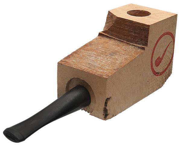 Smokingpipes Gear Ebauchon Briar Pipe Kit Ebonite Stem-Straight