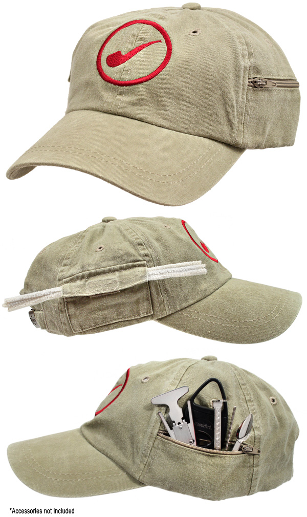 Smokingpipes Gear Smokingpipes Baseball Cap (with Pockets)