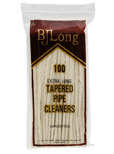 Pipe Supplies B. J. Long Regular Tapered Pipe Cleaners (100 pack)