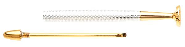 Pipe Supplies 8deco Classic Tamper Silver Diamond Cut