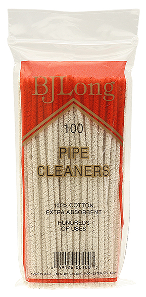 Cleaners & Cleaning Supplies B. J. Long Regular Pipe Cleaners (100 pack)