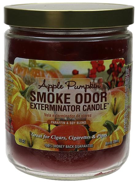 Smoke Odor Exterminator Candle Apple Pumpkin 13oz