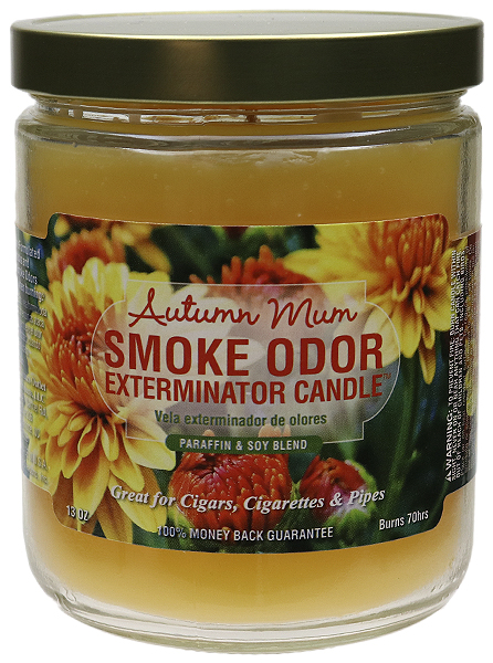 Smoke Odor Exterminator Candle Autumn Mum 13oz