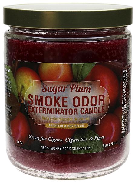 Smoke Odor Exterminator Candle Sugar Plum 13oz