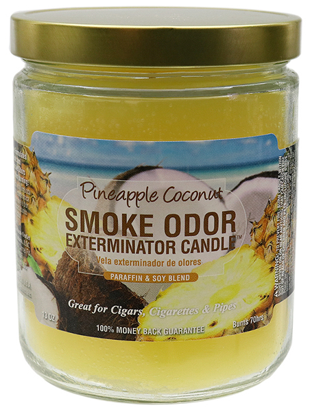 Smoke Odor Exterminator Candle Pineapple Coconut 13oz