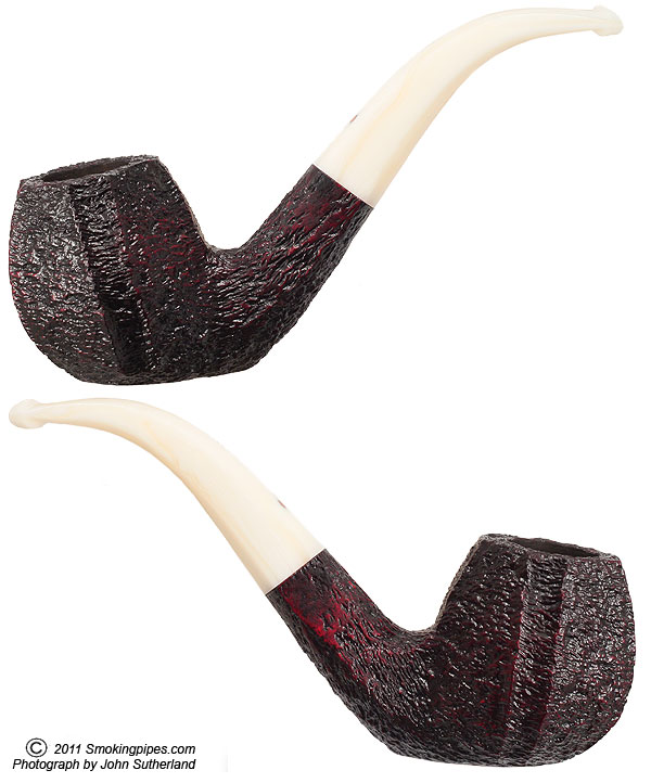 Pebble Grain Paneled Bent Brandy Sitter (XXX)