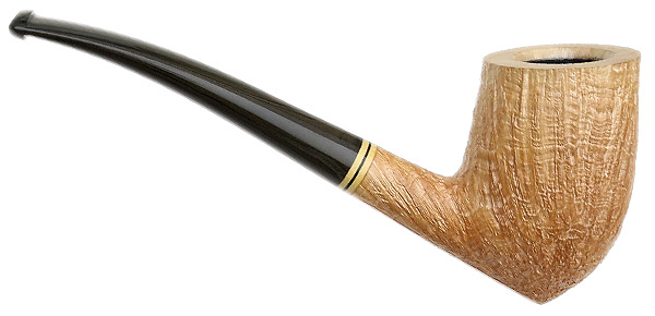 Becker Sandblasted Bent Acorn (Four Clubs)