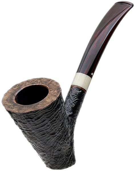 Becker Sanblasted Cherrywood with Horn (Four Clubs)