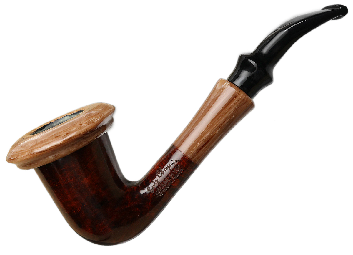 Butz-Choquin Calabash Smooth with Light Top