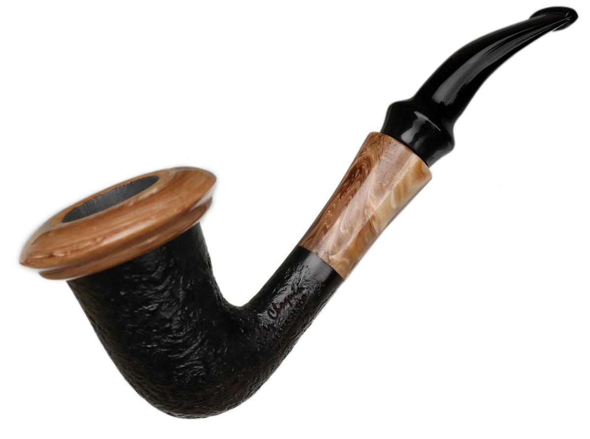 Butz-Choquin Calabash Sandblasted with Dark Top