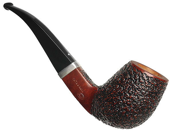 Caminetto Rusticated Bent Egg with Silver (08) (AR)