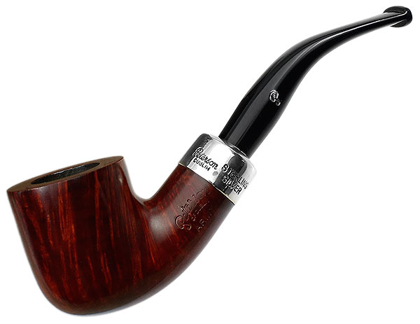 Peterson Silver Mounted Sherlock Army (01) Fishtail
