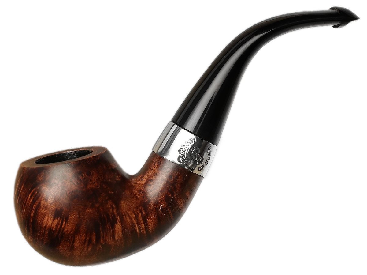 Peterson Aran Smooth Nickel Mounted (03) P-Lip